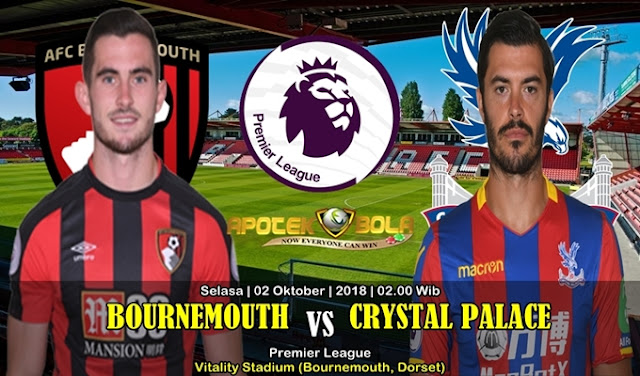 Prediksi Bournemouth vs Crystal Palace 02 Oktober 2018