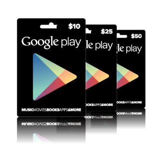 Cara singkat menukar dollar Whaff dengan Kartu Hadiah Google Play atau ke Google Wallet