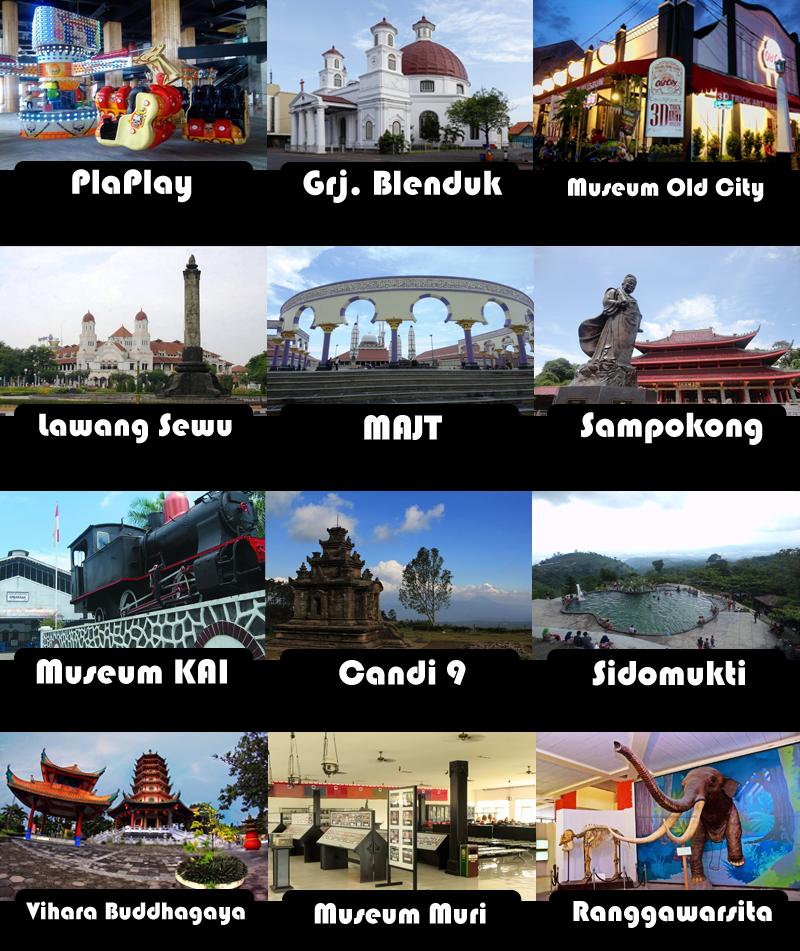 Paket Tour Semarang 1 Hari Kawan Kurnia Tour Travel