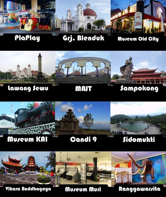 kumpulan foto tempat wisata semarang