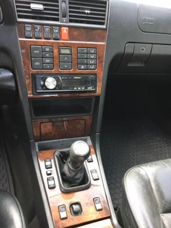 Daily Turismo: Three Pedal AMG- 1995 Mercedes C36