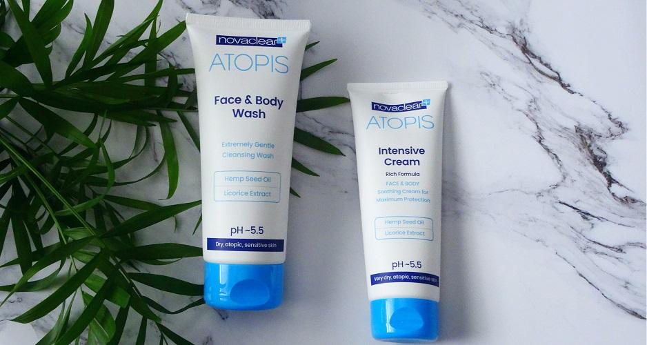 NOVA CLEAR, atopowa skóra, poparzenie słoneczne, alergia
