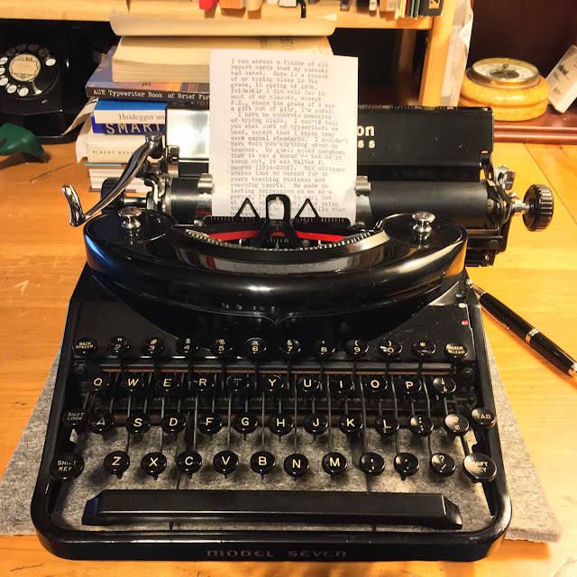 IMG 0774 - On my beginnings as a typist
