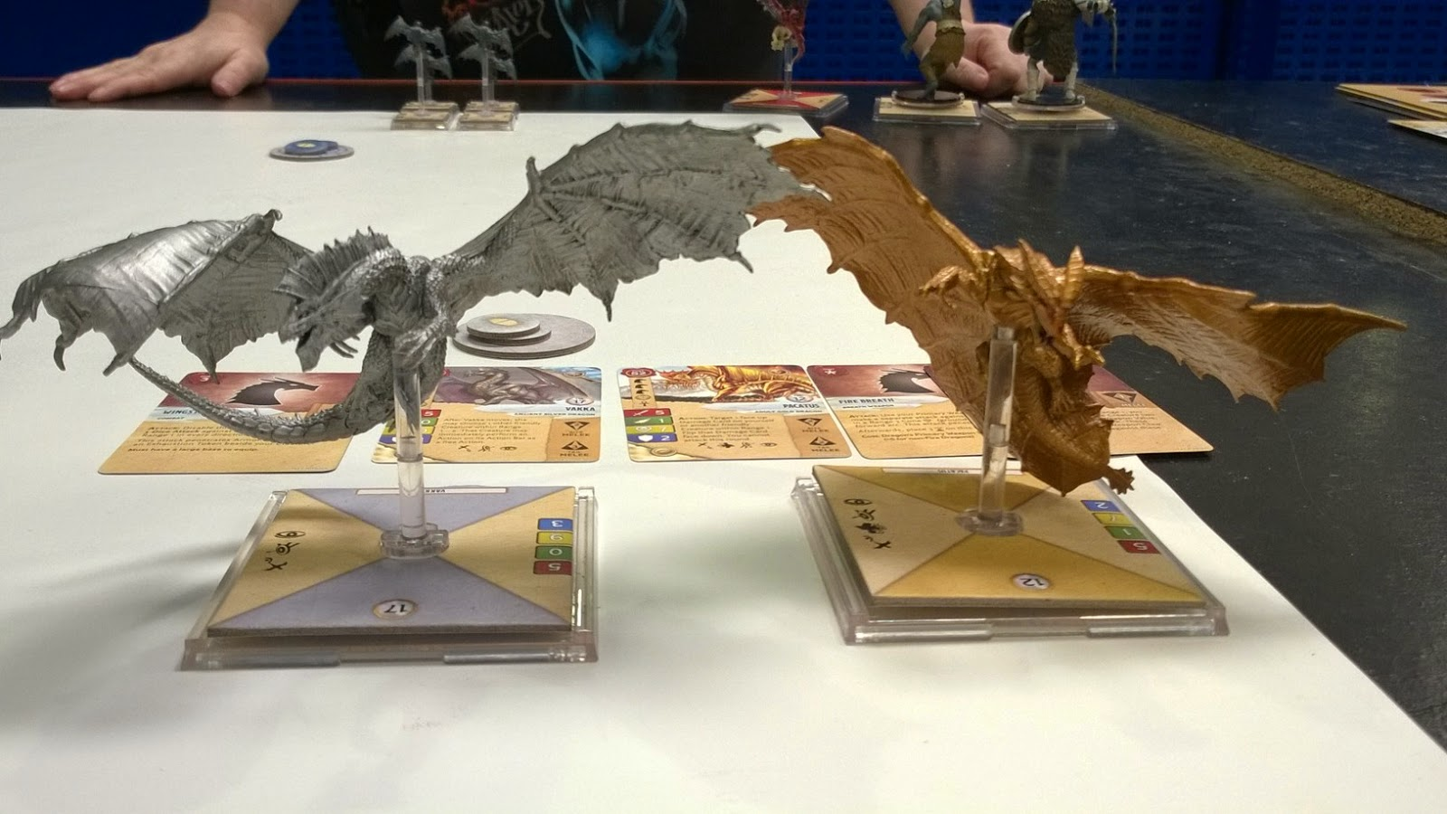 d&d attack wing silver gold dragon