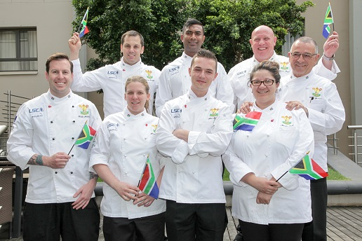 Let the Games Begin @CulinaryTeamSA #SAOlympicChef