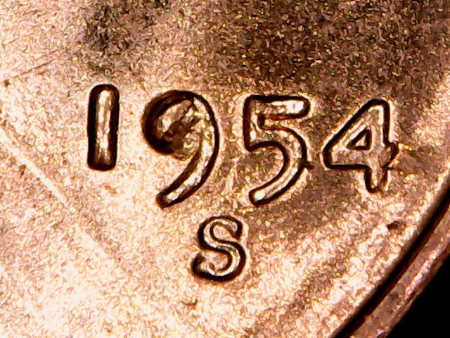 1 Million Pennies Project: 1954 Lincoln Cent Die Varieties