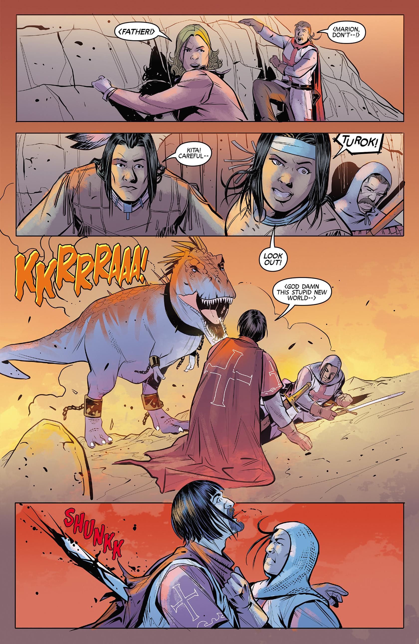 Read online Turok: Dinosaur Hunter (2014) comic -  Issue #4 - 17