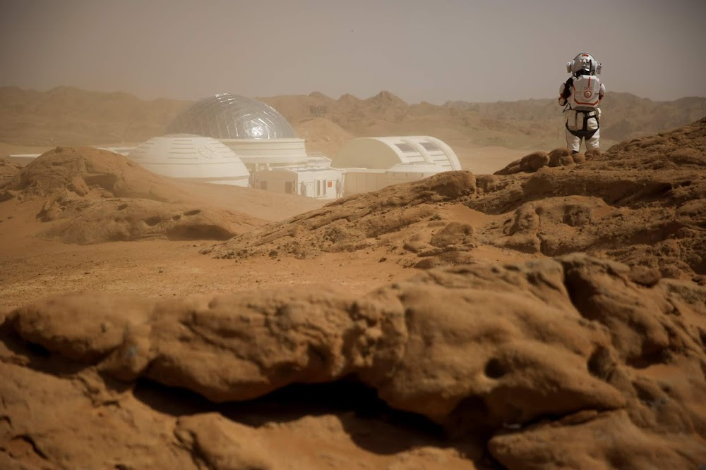 China's C-Space Mars simulation base in Gobi desert