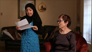 "Japanese American Internees Read ""Letters From Camp"" With Muslim Kids"