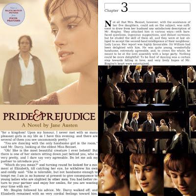 Pride \u0026 Prejudice 2005 Blog