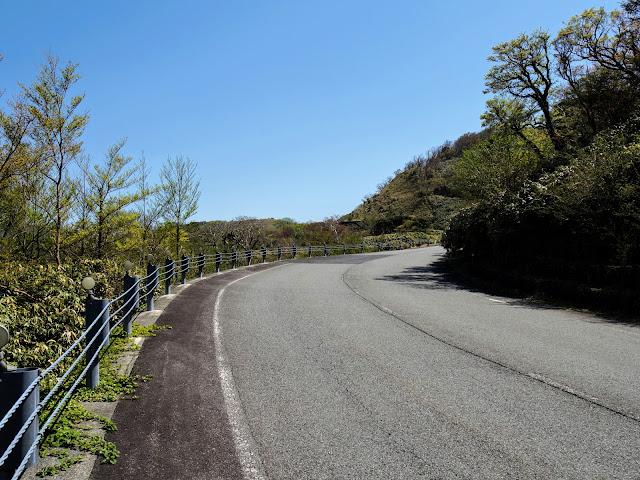 西天城高原道路