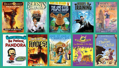Mythology-based fiction for younger readers