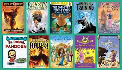 Mythology-based fiction for younger readers