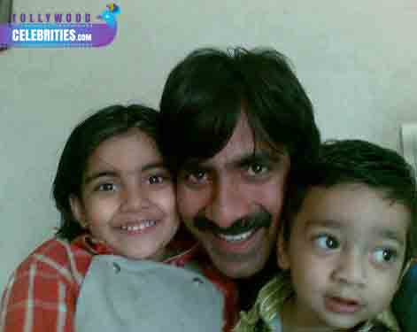ravi-teja-Daughter-and-son