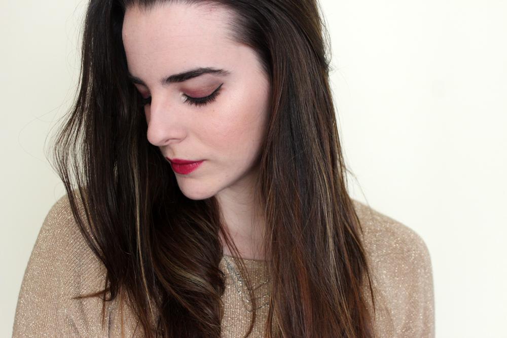 Pink tones makeup