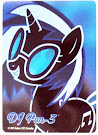 My Little Pony DJ Pon-3 Series 1 Trading Card