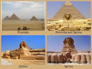 Piramida dan Sphinx di Cairo, Mesir