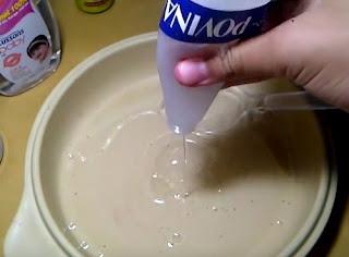 Cara membuat slime mudah