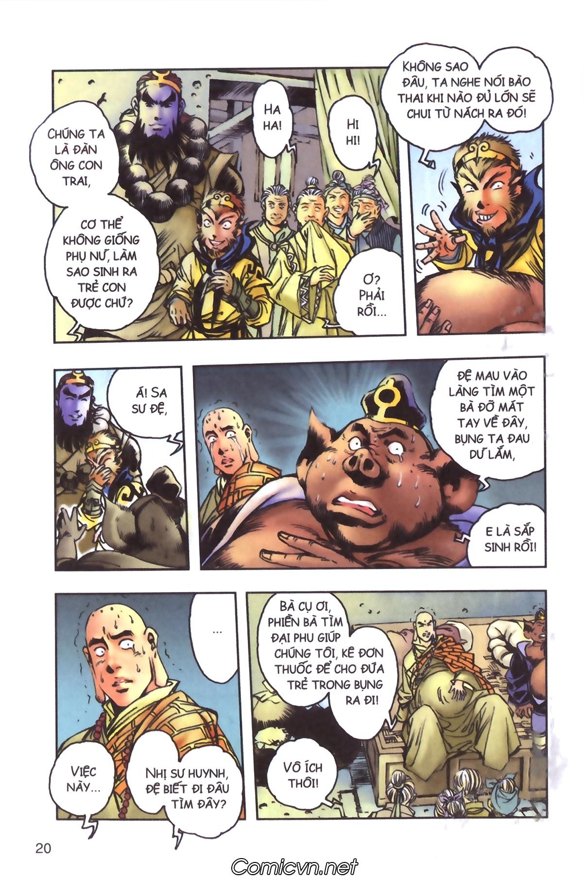 Tây Du Ký màu - Chapter 96 - Pic 18