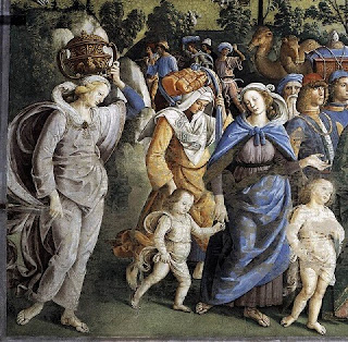 Nomes bíblicos de menina: letra Z (Imagem: Moisés partindo para o Egito - Pietro Perugino)