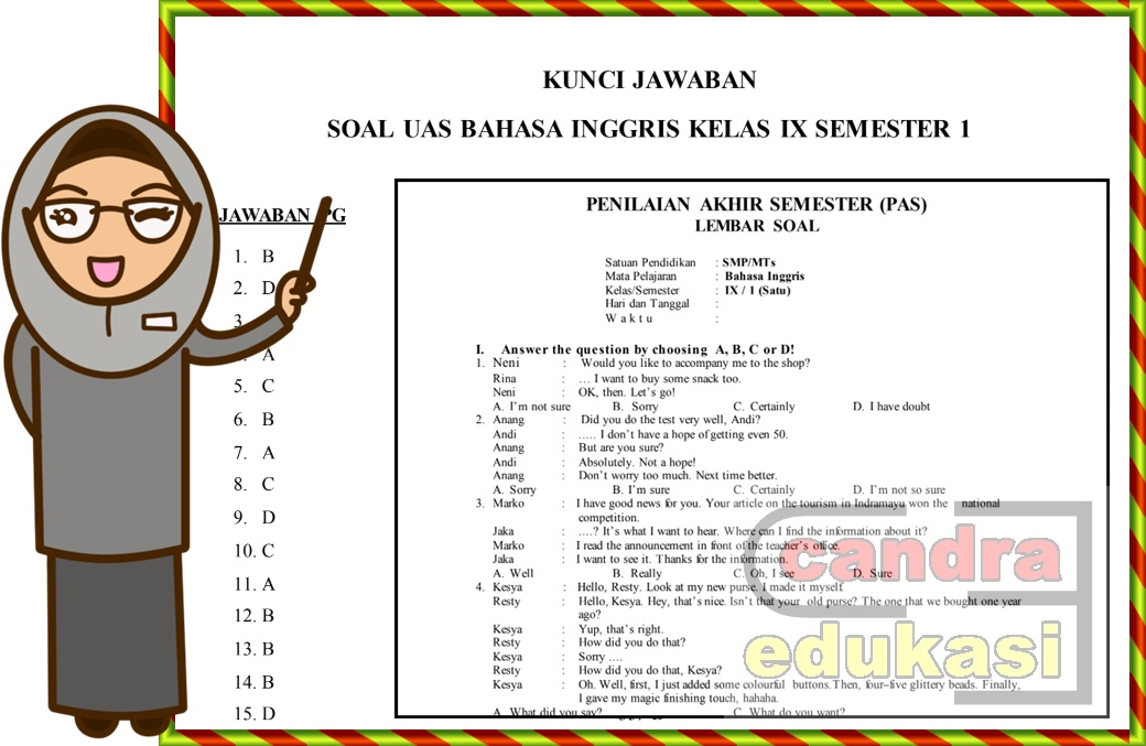 Populer 15+ Soal Bahasa Sunda Kelas 9 Dan Kunci Jawaban ...