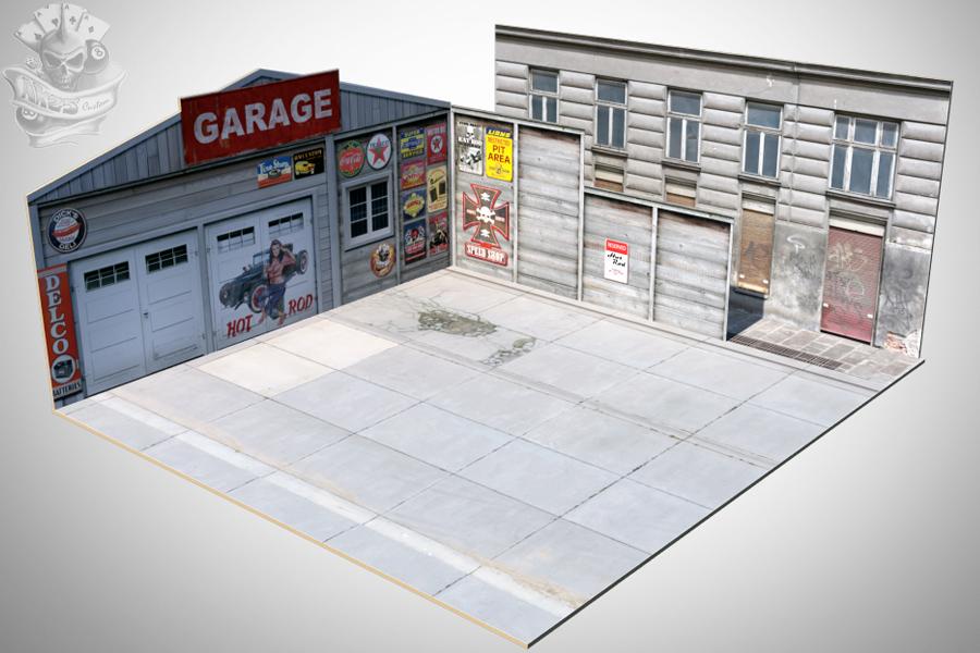 Diecast Miniatura e Decoração : Cenários/Dioramas para Fotos