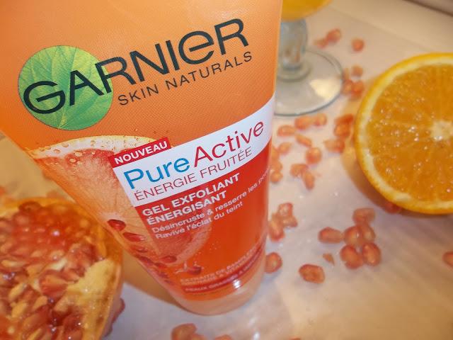 Gel Exfoliant Énergisant PureActive Énergie Fruitée - Garnier