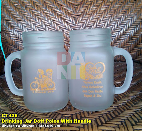 Drinking Jar Doff Polos With Handle