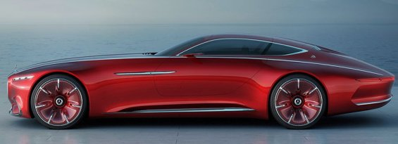 "PHOTO: Mercedes Benz Unvieled its Super Car Called ""Maybach"""