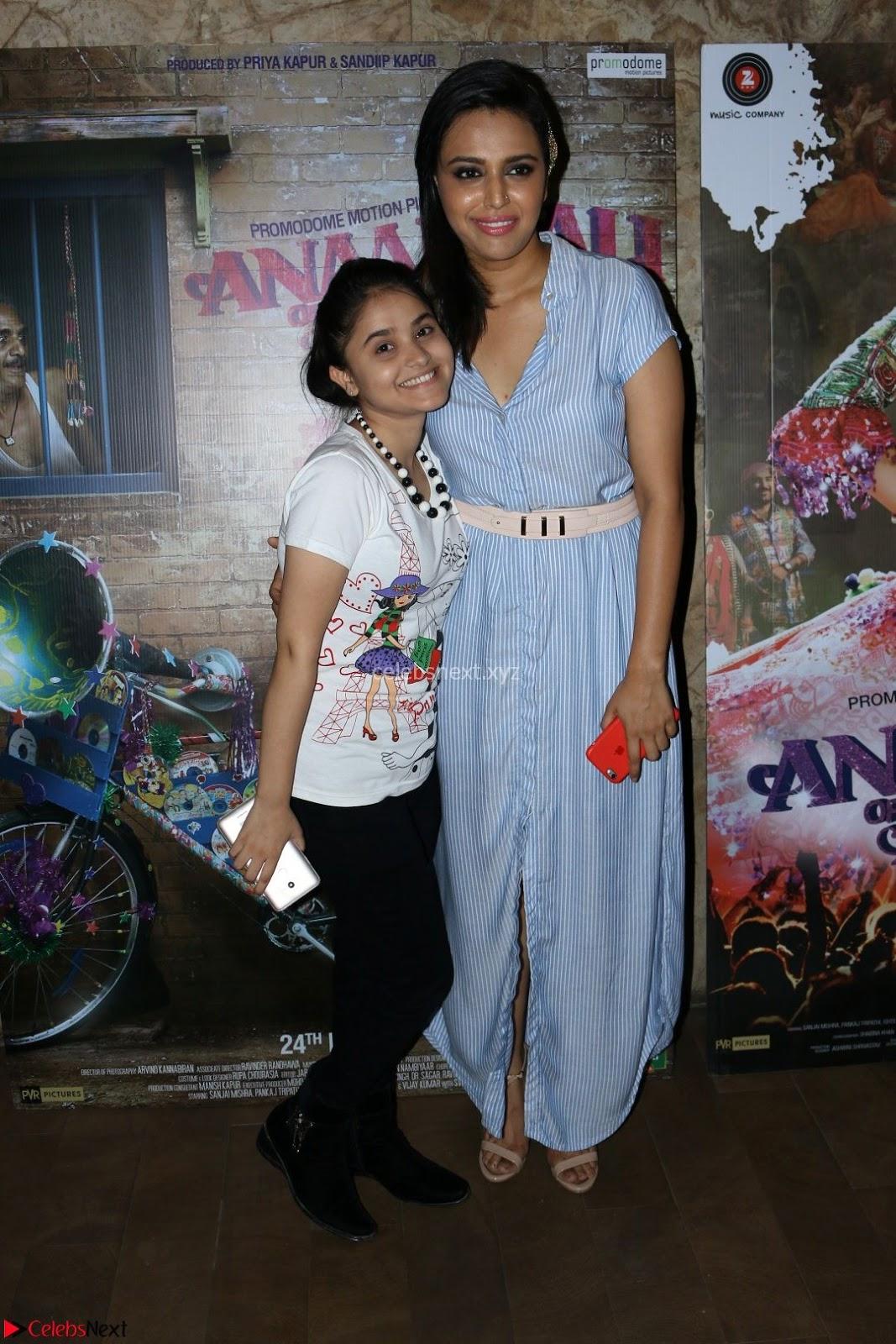Swara Bhaskar with Star cast of Anarkali Of Arrah at Special Screening Of Anarkali Of Arrah 23rd March 2017