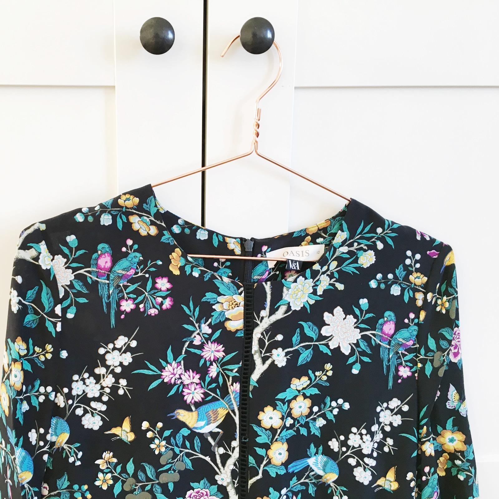 Oasis V&A Print Dress