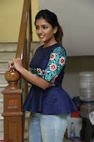 Eesha Looks super cute stunning in Denim Jeans and Top at Darsakudu movie Inerview ~  Exclusive 053.JPG
