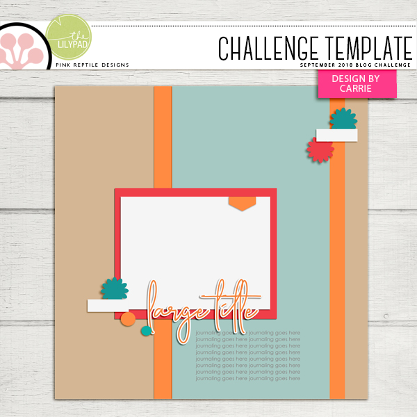 Pink Reptile Designs Blog Challenge Template