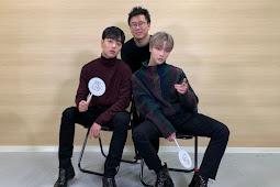 "Jinhwan and Junhoe on NACK5 ""JJANG! KOREA"" with Furuya-sensei"