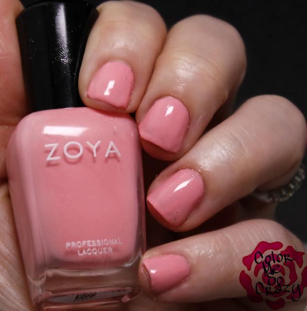 zoya, petals, spring 2016 collection, petals collection, spring nail polish, laural