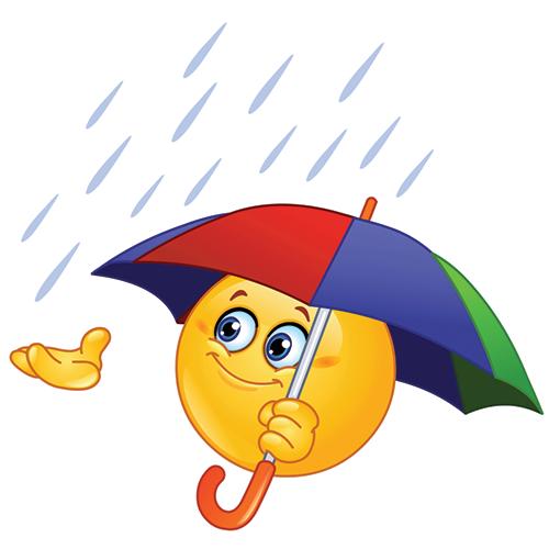 Facebook Umbrella Smiley