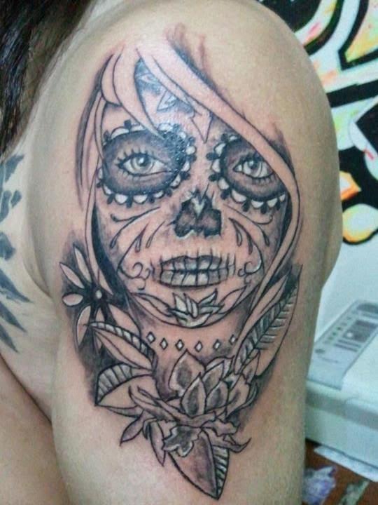 Mais Tattoo 59 Tatuagens De Catrina