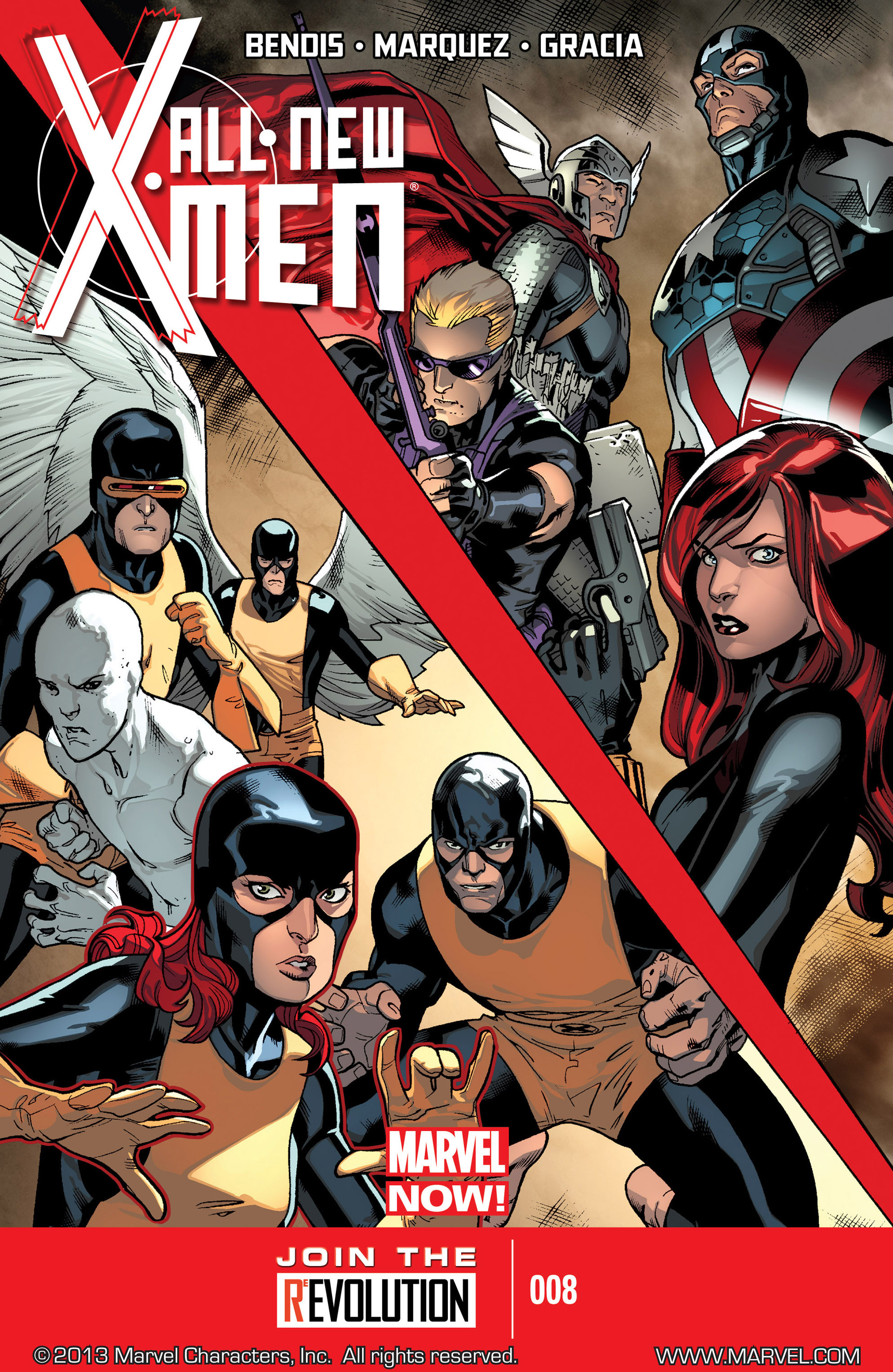 Read online All-New X-Men (2013) comic -  Issue #8 - 1