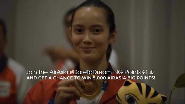 AirAsia Dare to Dream BIG Points Quiz #1 and Win 5,000 AirAsia Big Points!