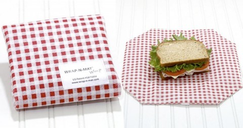 Wrap n Mat - reusable sandwich wrapper
