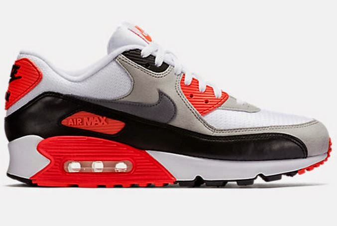 b82925b59f56c0 Here is a detailed look at the Nike Air Max 90 OG  Infrared  2015 VS the 2010  Sneakers Available Now HERE with more sizes HERE