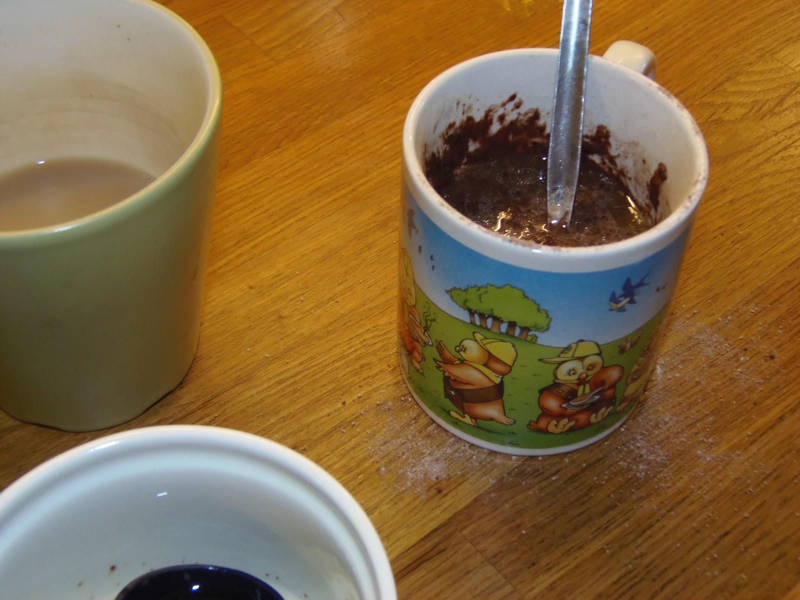 Minute Chocolate Mug Cake Recipe