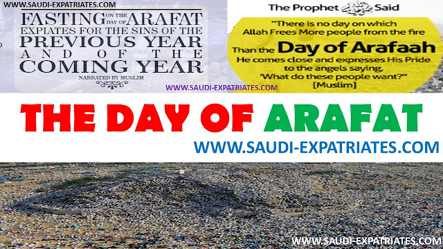 THE BLESSED DAY OF ARAFAH