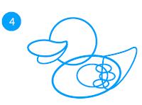 cara-menggambar-bebek-dengan-adobe-illustrator