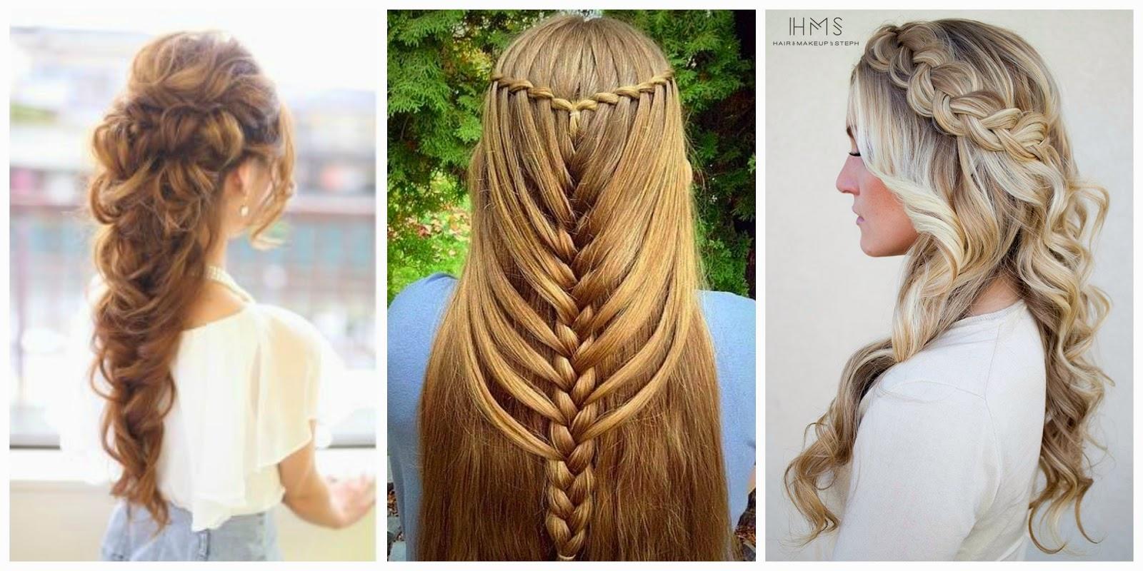 tranças em cabelos longos