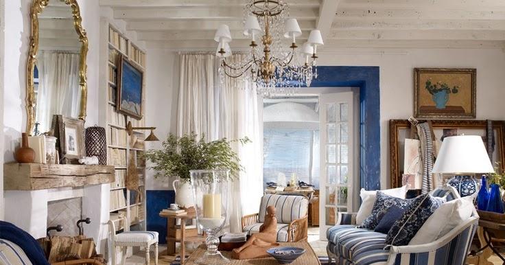 Hydrangea Hill Cottage: Ralph Lauren Roomsets