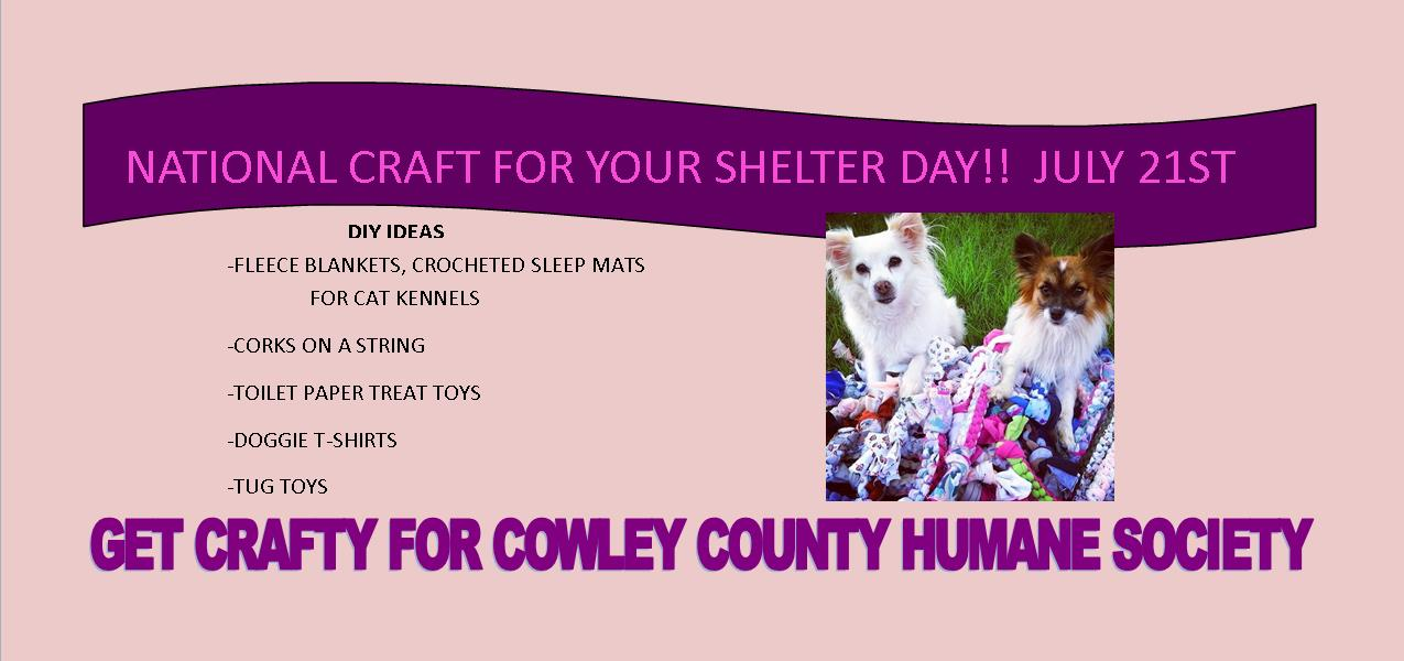 Cowley County Humane Society Blog July 2018