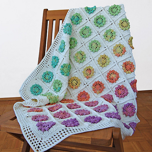 The Whisper of Joy Blanket - Free Pattern