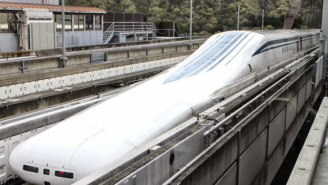 Japan's Maglev Train Breaks World Record with the Speed of 600km/h Test Run
