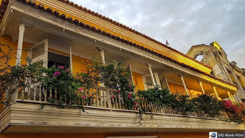 Casas de Cartagena - Diário de bordo: 4 dias em Cartagena, Colômbia